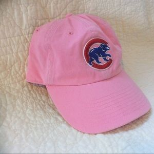 Pink Chicago Cubs cap adjustable size